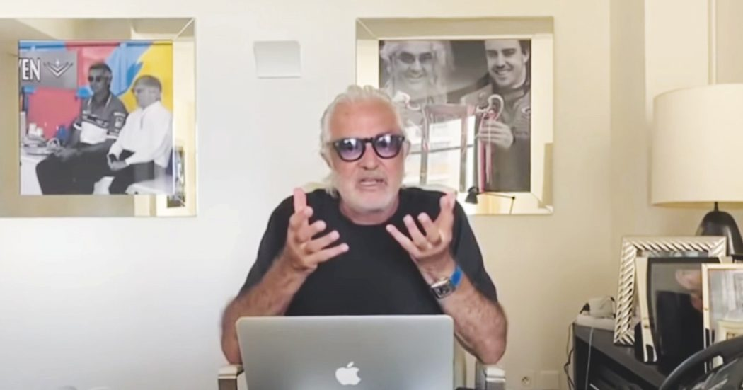 """Flavio Briatore: """"Ciao Falco, in bocca al lupo"""". Il messaggio al figlio su Instagram"""