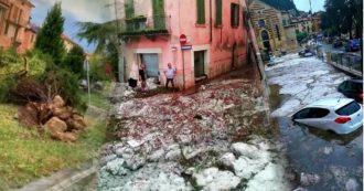 """Zaia dichiara lo stato di crisi per Verona dopo il violento nubifragio: """"Città colpita al cuore"""". Strade sommerse e alberi sradicati – VIDEO"""