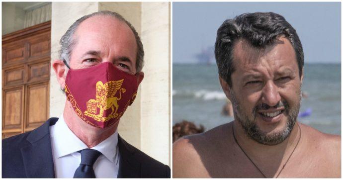 """Coronavirus e negazionisti, i leghisti divisi come Zaia e Salvini. Le """"tose"""" del governatore: """"Ho visto la bestia in faccia, proteggersi serve"""""""