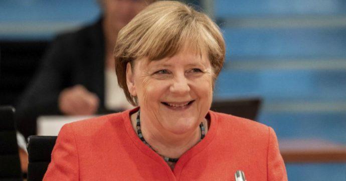 """Angela Merkel, solidarietà europea con il timer: """"il debito comune è esperienza limitata e circoscritta"""""""
