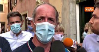 """Nubifragio a Verona, Zaia: """"Un'autentica tragedia, città in ginocchio. Ho visto persone con le lacrime agli occhi"""""""