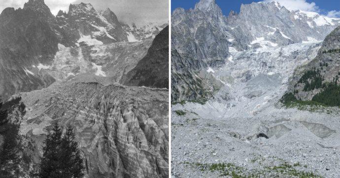 La storia del team italiano in viaggio da 10 anni per fotografare lo scioglimento dei ghiacciai. E confrontare gli scatti con quelli di fine '800