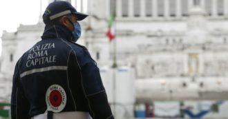 """Solo 100 vigili (su 6mila) a Roma per la prima notte di coprifuoco. Sindacato Ugl: """"Serve giusto compenso straordinario"""""""