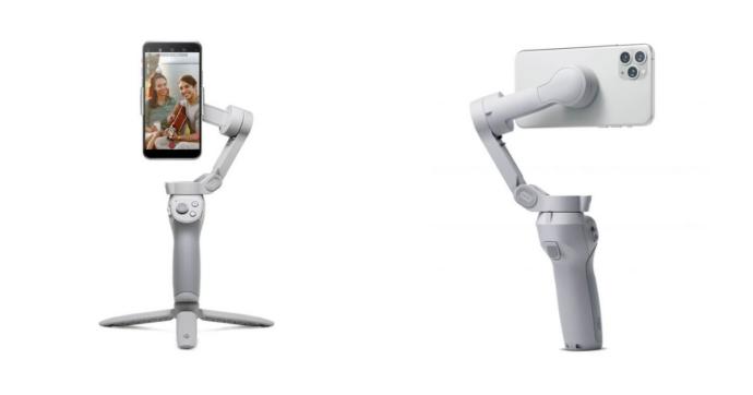 DJI presenta OM 4, lo stabilizzatore video per smartphone guadagna l'attacco magnetico