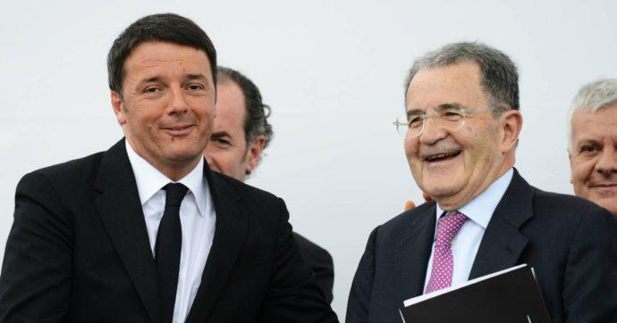 """Referendum, Prodi: """"I parlamentari sono troppi, ma dirò no"""". E Renzi: """"Libertà di voto, non personalizzo come nel 2016"""""""