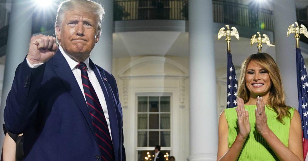 Usa 2020, Trump chiude la Convention della sua realtà alternativa: successi su Covid, silenzio sulla crisi
