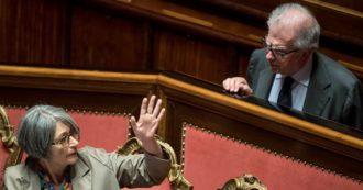 Zanda e Finocchiaro si schierano per il No al referendum. Ma nel 2008 proposero un identico taglio degli eletti