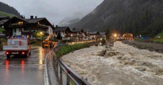 Autobrennero chiusa per esondazione di Adige e Isarco. Bloccata anche la linea ferroviaria. Maltempo provoca danni in tutto il Nord