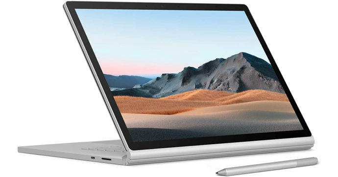 Microsoft Surface Book 3, portatile da 15 pollici dedicato ai professionisti con 442 euro di sconto su Amazon