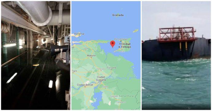 """Venezuela, allarme per la petroliera Nabarima: """"Sta imbarcando acqua"""". Eni (partner al 26%): """"Tutto risolto, condizioni stabili"""""""