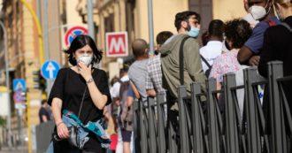 """Lazio, obbligatorio indossare la mascherina all'aperto. Zingaretti: """"Multe per chi viola le regole"""". Obbligo anche in Basilicata"""