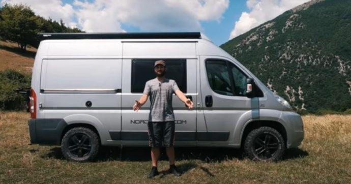 Yari Ghidone e il suo camper: uno stile di vita alternativo 'si può fare'