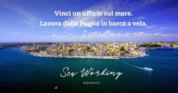 """Smart working vista mare: a Brindisi ecco il contest per lavorare in barca a vela. """"Vogliamo dimostrare che ripartire dal Sud è possibile"""""""
