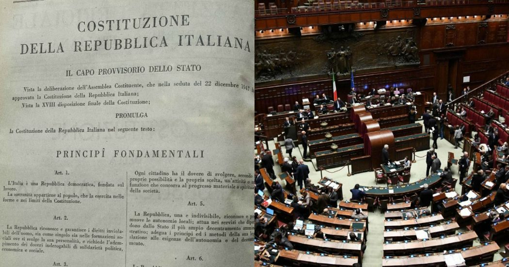 """Il taglio degli eletti """"mortifica"""" la Carta e la rappresentanza? Il numero attuale risale al '63. E non c'erano Consigli regionali e Parlamento Ue"""