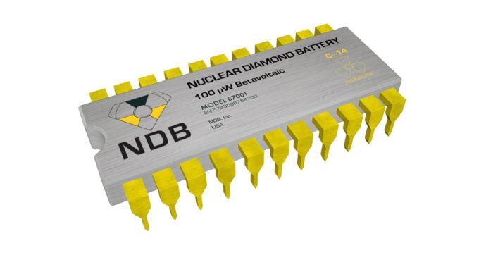 La batteria del futuro ai nano-diamanti sfrutterà la radioattività e non avrà bisogno di essere ricaricata