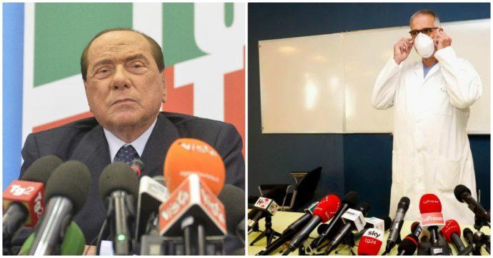 """Silvio Berlusconi positivo, Zangrillo: """"Fase delicata, ma decorso è regolare"""". Clementi: """"Carica virale alta, in cura con Remdesivir"""""""