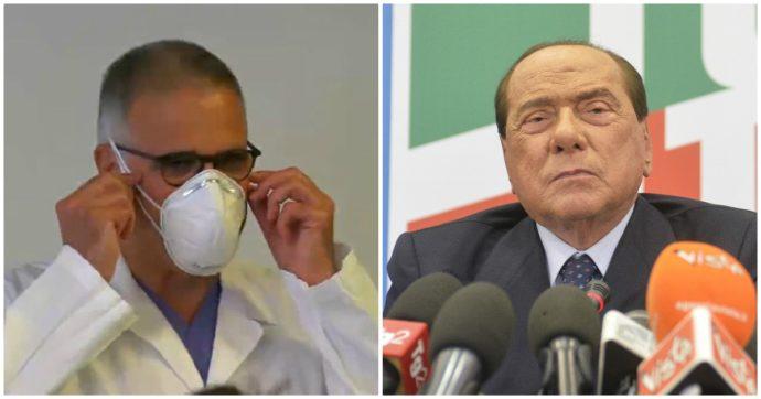 """Berlusconi ricoverato, Zangrillo: """"Parametri confortanti, evoluzione clinica è favorevole"""""""