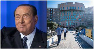 """Berlusconi positivo al Covid, """"oggi e domani giornate decisive per decorso della polmonite"""""""