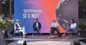Festa del Fatto Quotidiano, rivedi l'incontro con Riccardo Fraccaro e Alfiero Grandi sul taglio di parlamentari