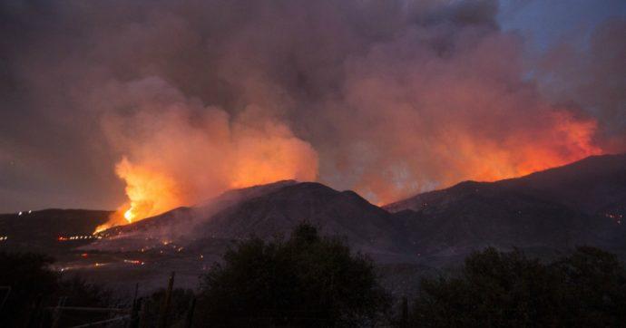 California, provocano mega incendio durante la festa per il bebé: 30 chilometri quadrati di foresta in fiamme