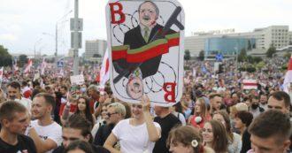 Bielorussia, in 100mila a Minsk per cacciare Lukashenko: in piazza slogan anti-Putin. Sparita l'oppositrice Kolesnikova
