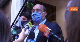 """Zingaretti: """"Il centro sinistra ha salvato l'Italia, ora progetti concreti per Mes e Recovery fund. Dobbiamo costruire un nuovo paese"""""""