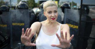 """Bielorussia, l'oppositrice Maria Kolesnikova arrestata al confine con l'Ucraina. """"Sparita un'altra dissidente"""""""