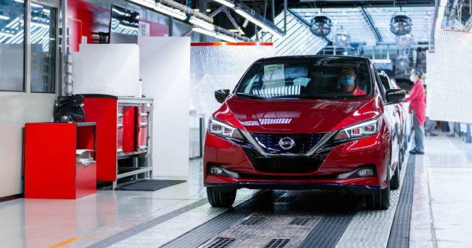 Nissan Leaf, sfornato l'esemplare numero 500 mila nella fabbrica di Sunderland