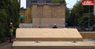 """Milano, installate le prime aule temporanee: ospiteranno circa mille bambini. L'assessore: """"Non chiamatele 'container"""