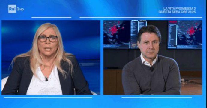 """Domenica In, il premier Conte fa retromarcia dopo le polemiche di Salvini e Meloni: """"Niente videomessaggio"""". Mara Venier: """"Mi sarebbe piaciuto"""""""