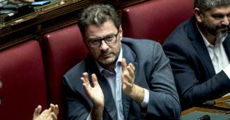 """Referendum, Giorgetti per il No: """"Il sì? Favore al governo"""". Un anno fa in Aula votò per il taglio: """"I seggi possono essere 500, 400, 300"""""""
