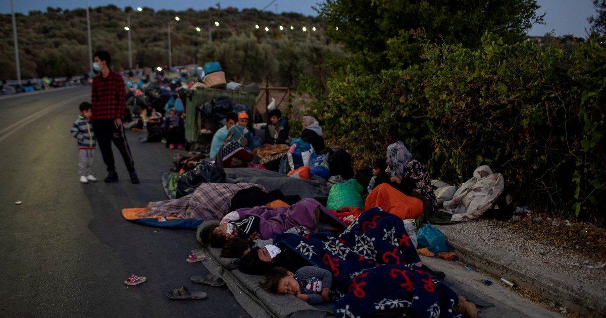 """Lesbo, le voci dei migranti: """"Date riso, non lacrimogeni"""""""