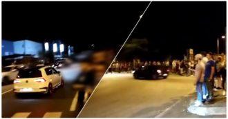 Auto che sfrecciano e centinaia di spettatori assembrati: le corse clandestine bloccano la provinciale lecchese. I video