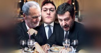 Quella cena romana a maggio tra Salvini, Calderoli e Manzoni