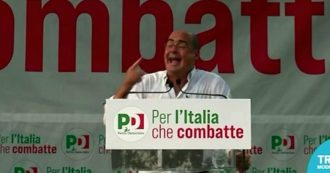 """Zingaretti: """"Noi alle regionali contro la destra estrema che candida chi celebra la marcia su Roma e chi si dice né fascista né anti"""""""