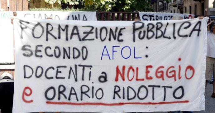 """Afol Metropolitana Milano, stabilizzazione beffa per i docenti precari. """"A un anno di distanza accordo non onorato"""""""