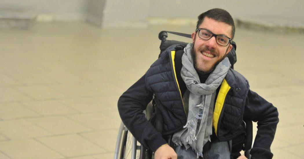 """Iacopo Melio: """"Non mi candido da disabile (solo) per i disabili, ma per la comunità. A chi si sente ignorato dico: fai rispettare i tuoi diritti"""""""