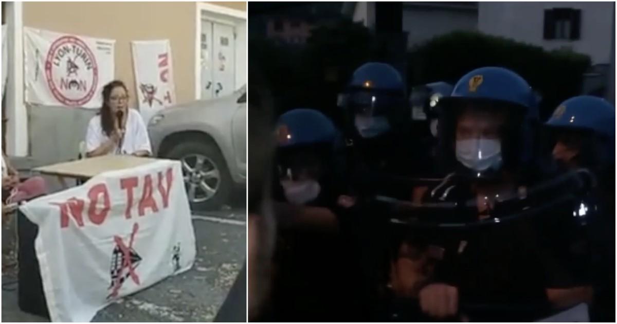 Arrestata Dana Lauriola, la polizia la preleva all'alba. La portavoce del movimento No Tav deve… thumbnail