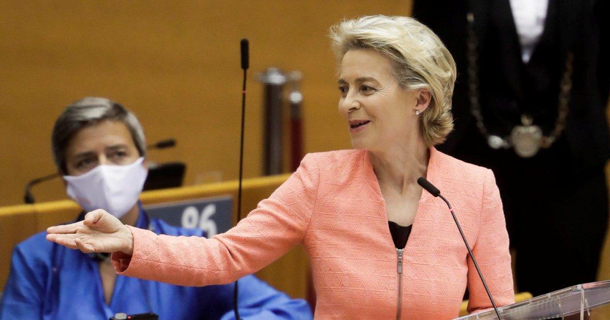 """Ursula: """"Sì ai salari minimi"""". Ora l'Italia non ha più alibi"""