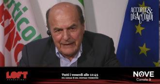 """Referendum, Pier Luigi Bersani ad Accordi&Disaccordi (Nove): """"Smentire il voto del Parlamento? Sarebbe uno schiaffo terribile"""""""
