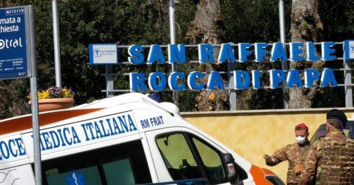 San Raffaele Rocca di Papa, la gestione dell'emergenza Covid affidata a un infermiere. Metà dei degenti contagiati