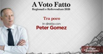 """Elezioni e referendum, dalle 14.45 la diretta """"A voto Fatto"""": per seguire tutti gli aggiornamenti con le analisi di Peter Gomez, inviati e ospiti"""