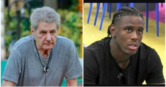 """Grande Fratello Vip, Fausto Leali chiama Enock """"negro"""": """"Nero è il colore, negro è la razza"""". Scoppia la polemica, ora i social invocano l'espulsione"""