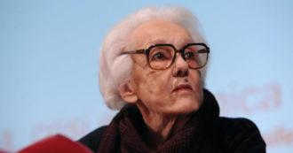 È morta Rossana Rossanda, addio alla giornalista e fondatrice del Manifesto