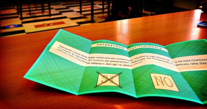 Referendum, il Sì quasi al 70%: il voto completa la riforma sul taglio dei parlamentari. Dalla prossima legislatura scendono da 945 a 600