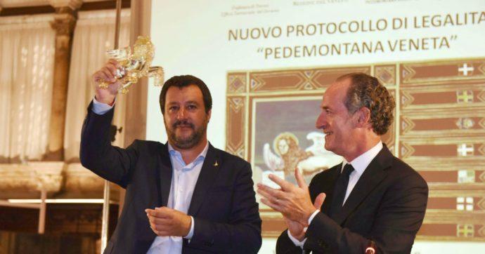 """Veneto, la lista Zaia prende il triplo della Lega. Il governatore nega dualismi con Salvini ma dice: """"A me consenso che non va al partito"""""""