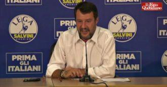 """Regionali, Salvini nega divisioni nella Lega: """"Vittoria di Zaia? Motivo di vanto, non temo e non soffro la competizione interna"""""""