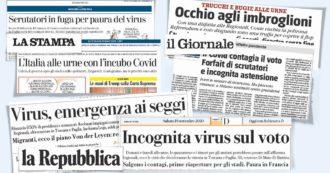 Referendum e regionali: buona l'affluenza ai seggi. I giornaloni come Craxi nel '91: nessuno li ascolta