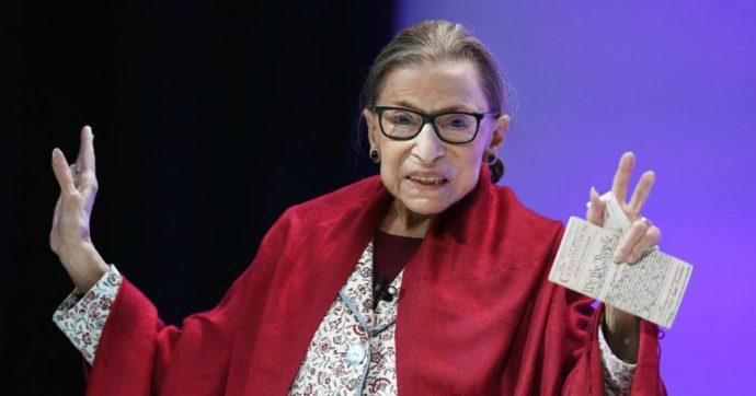 Ruth Bader Ginsburg, una Corte suprema conservatrice rischia di riportare gli Usa indietro di decenni