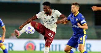 Roma, sconfitta 3 a 0 a tavolino col Verona: Diawara inserito nella lista degli under 22. Si è dimesso il segretario generale Longo